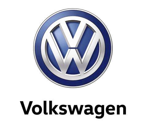 폭스바겐 로고.