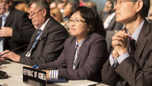 김은경 환경부장관, 기후변화협약 당사국총회 고위급회의 참석