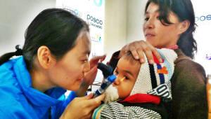 포스코대우, 우즈베키스탄서 안질환 환자 의료캠프