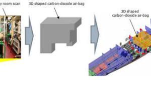 [주목할 우수 산업기술]고정식 CO2 소화주관을 활용한 선박용 3차원 부력보조장치