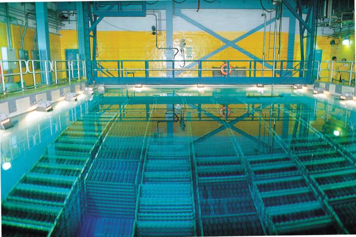 습식 사용후핵연료 저장시설