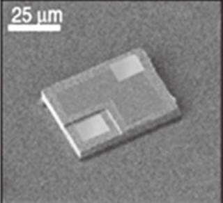마이크로 LED칩(자료: 산기평).