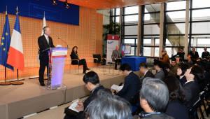백운규 산업부 장관, 4차 한불 신산업 기술협력 포럼 참석