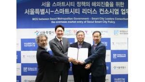 한컴그룹, '서울형 스마트시티' 해외 확산 나선다