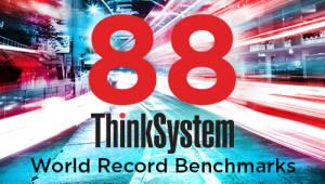레노버, 새로운 서버 포트폴리오로 총 88개 벤치마크 신기록 달성