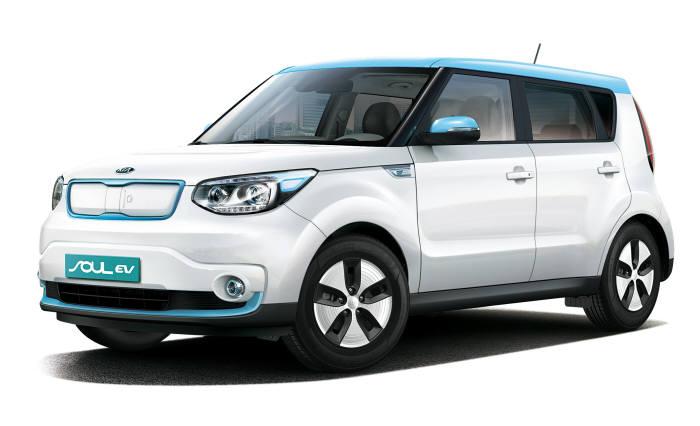 올해 상반기 출시된 기아차 '쏘울 전기차(EV)'.