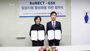 임상시험산업본부-GSK, 임상시험 글로벌 경쟁력 강화 MOU 체결