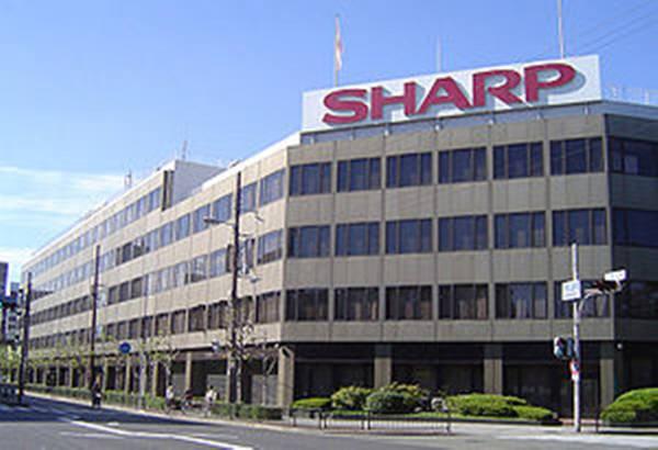 오사카에 있는 샤프 본사. <전자신문DB>