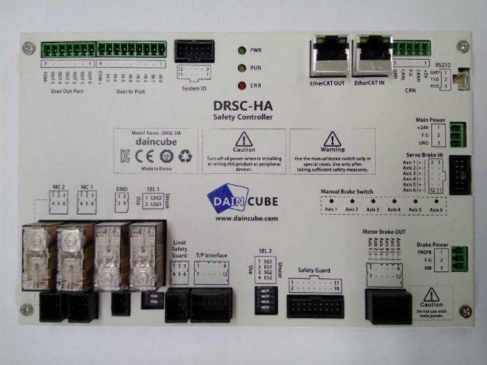 다인큐브가 개발한 세이프티컨트롤러 DRSC(사진=다인큐브)