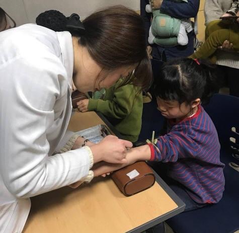 녹십자의료재단, 제주 중증알레르기 아동 검사지원