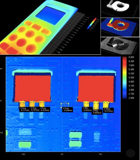 이오비스의 3D 검사 소프트웨어 '고비스' 화면 캡처.