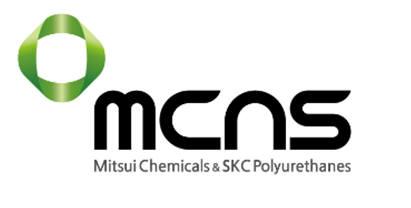SKC와 일본 미쓰이화학 폴리우레탄 합작사 'MCNS' 로고