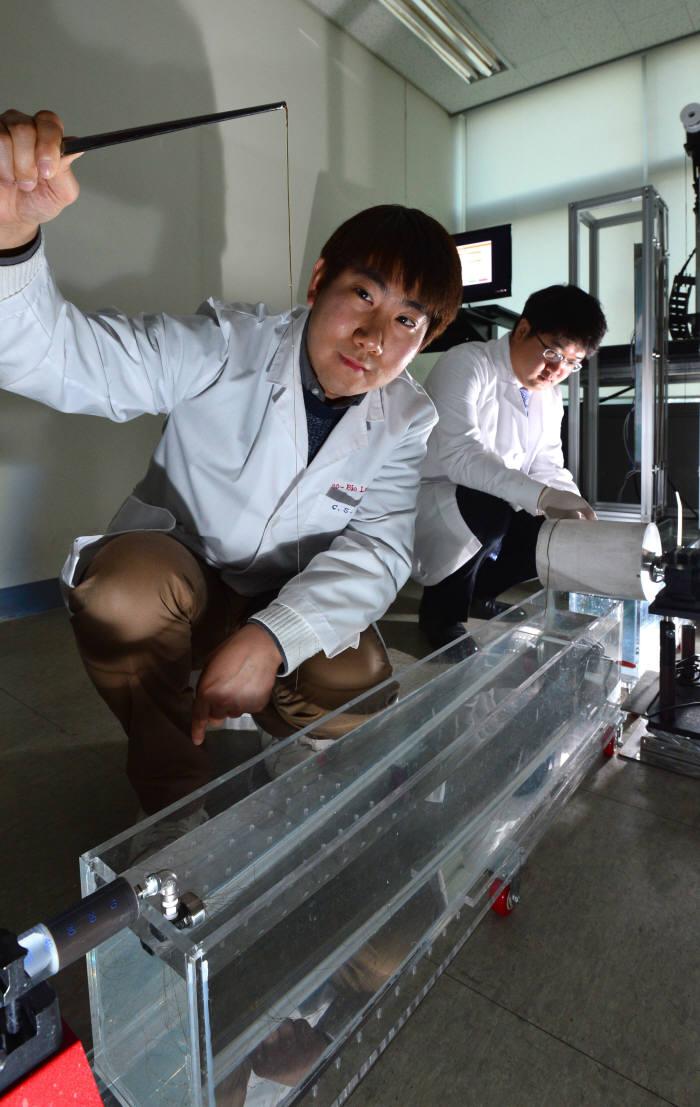 차세대융합연구원, 기능성 그래핀섬유 개발 한창