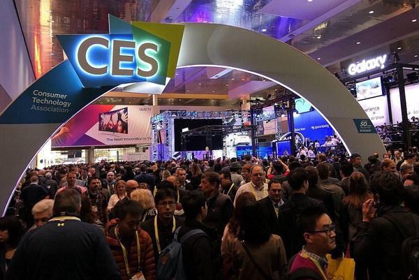 올해 CES는 '스마트시티의 미래'를 주제로 열린다. 사진은 지난해 CES 현장(CES 2018 홈페이지).