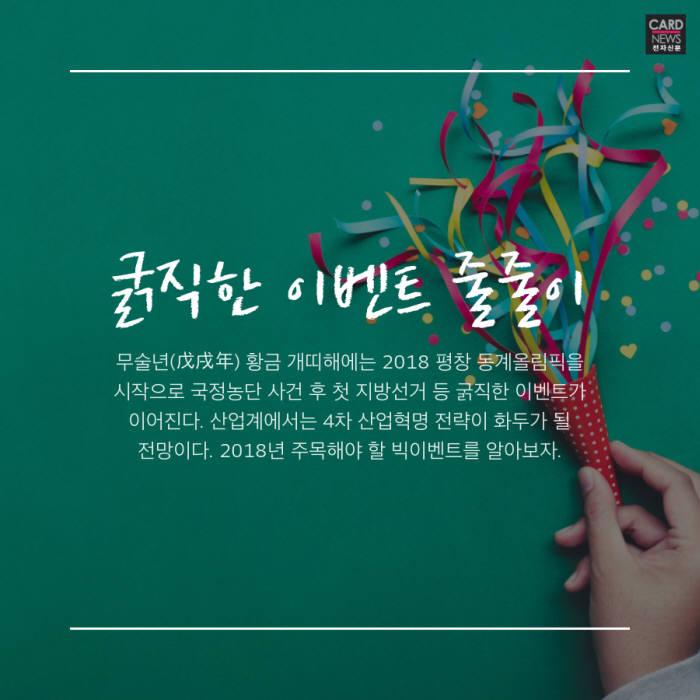 [카드뉴스]무술년 빅이벤트 '한눈에'