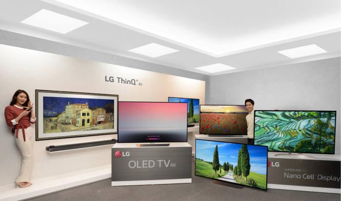 LG전자, 인공지능 '씽큐(ThinQ) TV'