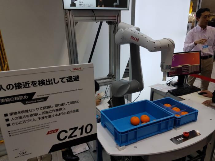 나찌가 출시한 협동로봇 CZ10(해당 기사와는 관계 없음)
