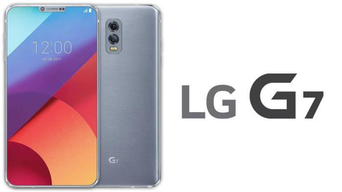 해외 유튜브 이용자가 각종 루머를 기반으로 제작한 LG G7 예상 이미지.