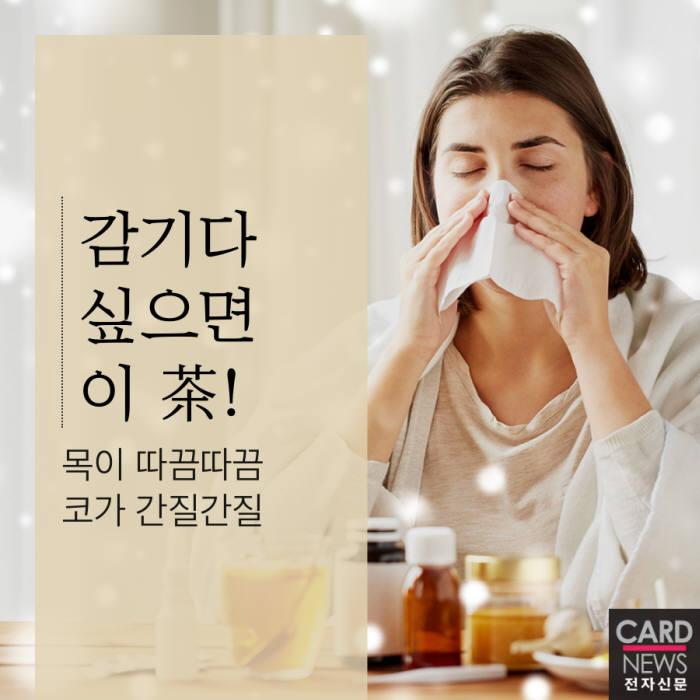 [카드뉴스]감기다 싶으면 이 茶!