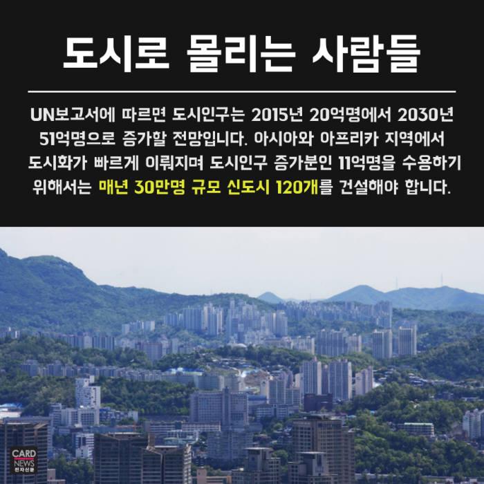 [카드뉴스]'문제는 도시화, 이제는 미래화' 스마트시티