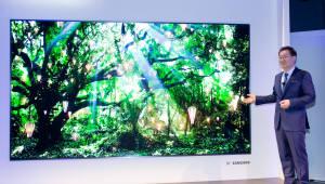 삼성전자, 세계 최초 모듈형 마이크로 LED TV '더 월(The Wall)' 공개