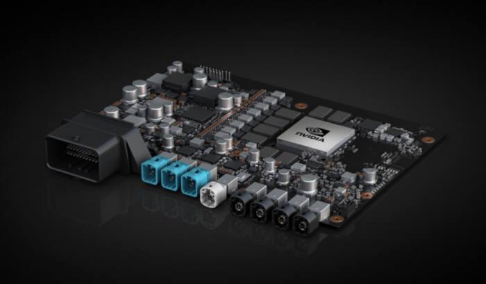 엔비디아 신형 자율주행차용 SoC 자비에를 탑재한 개발보드