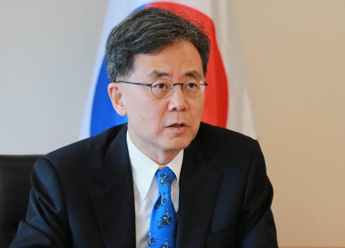김현종 통상교섭본부장.