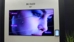 """한상범 LGD 부회장 """"8K OLED 생산시작, 2020년 OLED 비중 40%로"""""""