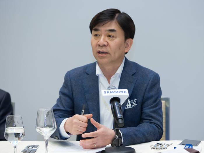 "[CES 2018]김현석 사장 ""지능화된 IoT 위해 '원 삼성' 역량결집"""