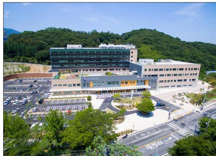 국립마산병원 전경