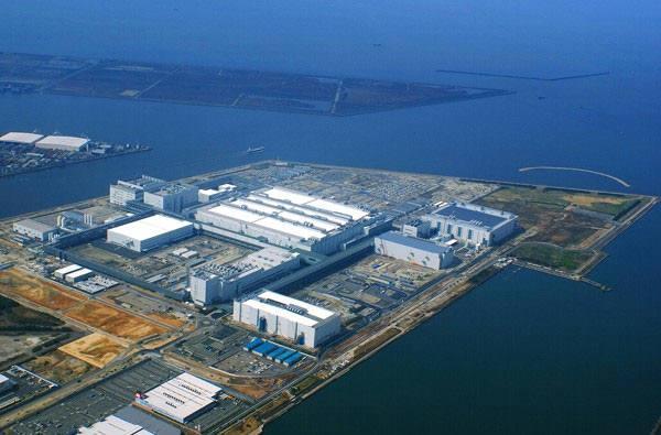 일본 사카이에 위치한 샤프 10세대 LCD 공장 (사진=샤프)