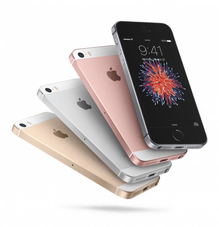 애플이 2016년 상반기 선보인 아이폰SE.
