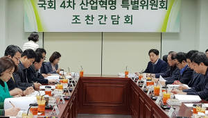 국회-정부, 4차 산업혁명 협력체계 가동···첫 간담회