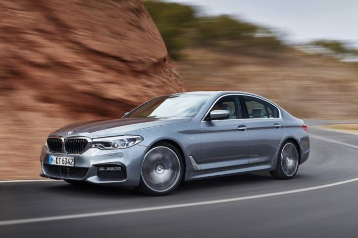 BMW 뉴 520d는 2년 연속 수입차 최다 판매 모델 1위에 올랐다.