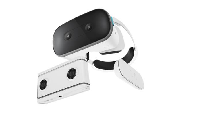 레노버 가상현실(VR) 기기 미라지 솔로와 미라지 카메라