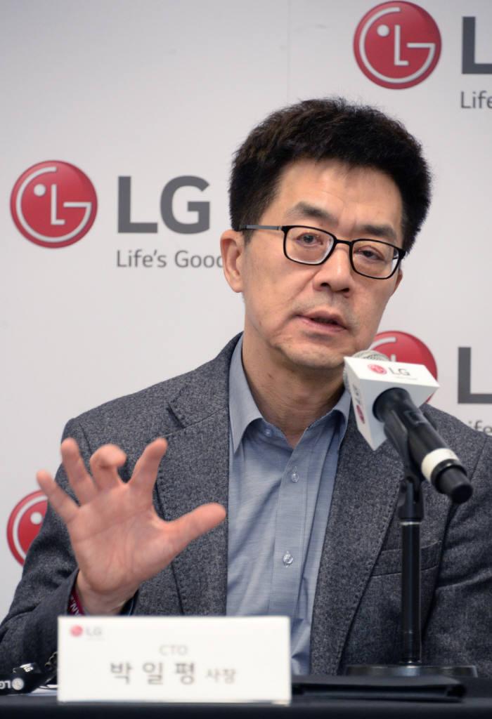 LG전자 박일평 최고기술책임자(CTO) 사장 (사진=LG전자)