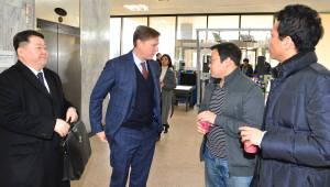 케빈 마틴 페이스북 부사장, 이효성 방통위원장 면담