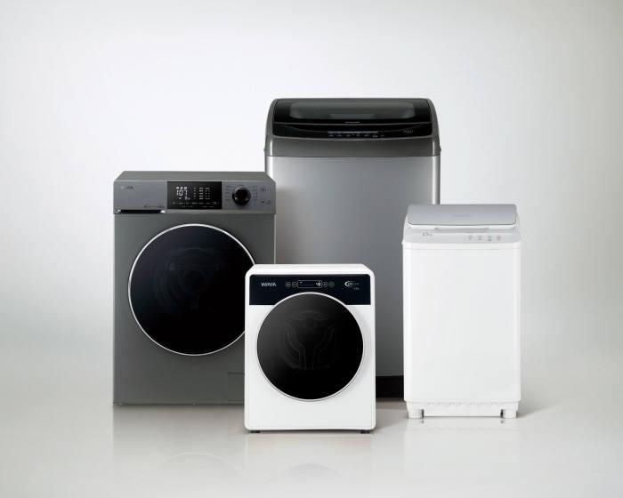대유위니아, '위니아 크린 세탁기'로 가정용 세탁기 시장 진출