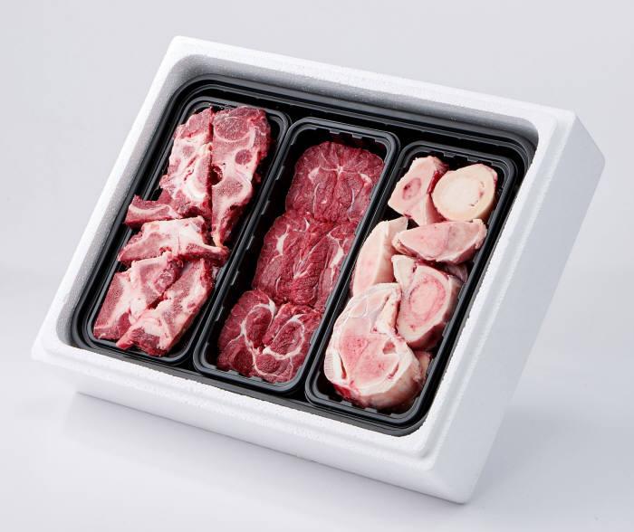 롯데마트 한우 냉동 몸보신세트