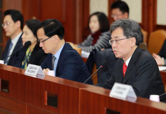 김현종 산업통상자원부 통상교섭본부장.