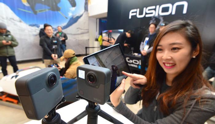 고프로, 360도 소형 VR카메라 퓨전 출시