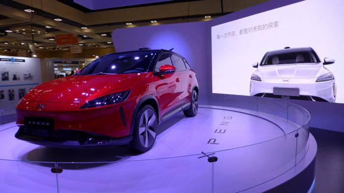 4년차 스타트업 샤오펭이 연내 중국 출시를 앞둔 전기차 'G3' (사진=전자신문)