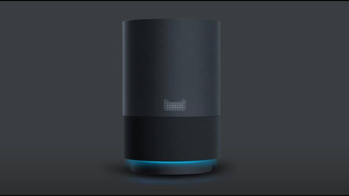 알리바바 티몰지니 기반 AI 스피커. 향후 홈 IoT 기기도 쏟아질 전망이다.