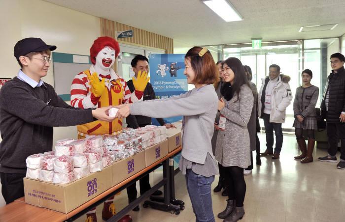 맥도날드, 5년간 행복의 버거 20만개 지역사회에 기부