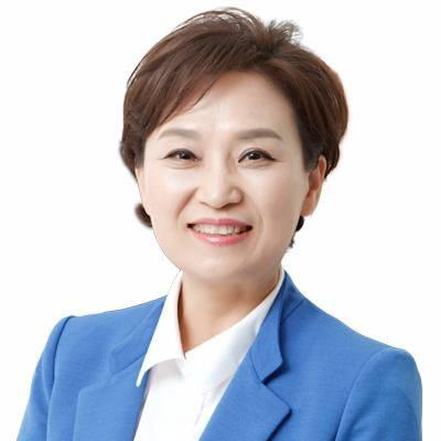 김현미 장관 성북구 아파트 방문...'최저임금 경비원-입주민 상생'