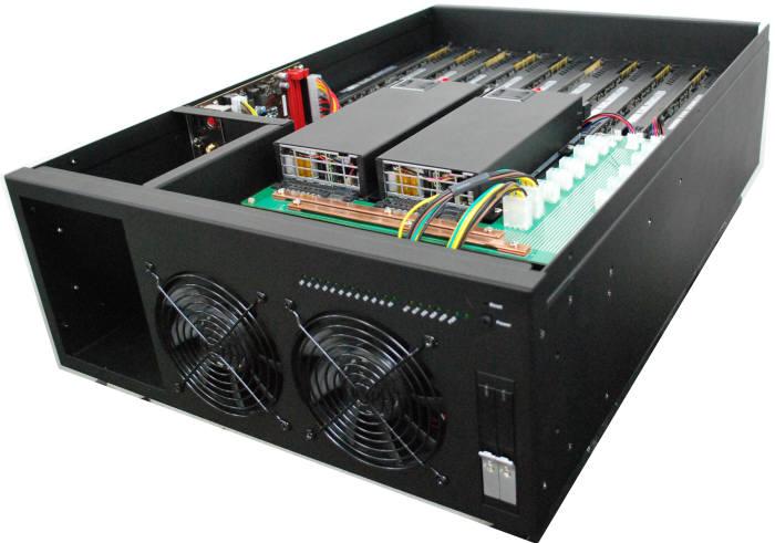 슈퍼컴퓨터 제조업체 코코링크는 고기능성 HPC 클라이맥스-R10과 클라이맥스M10을 다음달부터 국내 판매한다. 사진은 클라이맥스-M10