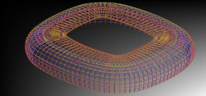 3D 모델 속성 정보를 표시하는 테클라 스트럭처스