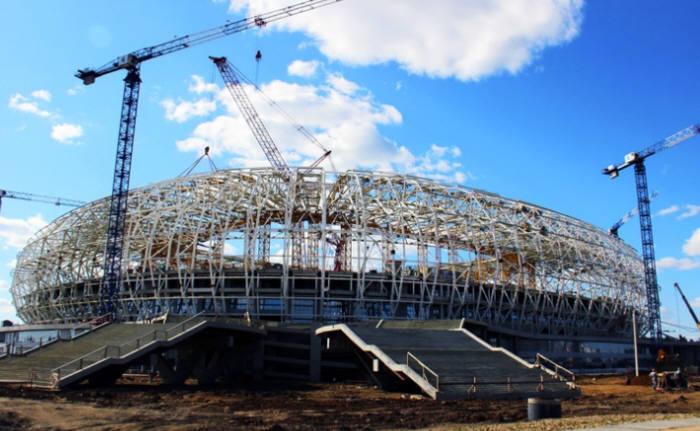 트림블 BIM 기술로 설계한 모르도비야 아레나 경기장