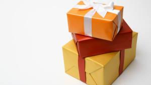 대기업의 '어색한 선물 보따리'