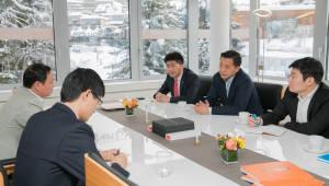 김동관 한화큐셀 전무, 다보스포럼서 4차 산업혁명 혁신기술 선점 의지